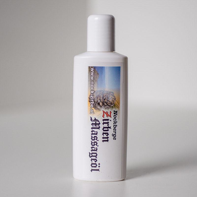 Massageöl mit Zirbenöl