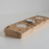 Teelicht aus Zirbenholz - Zirbe