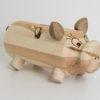 Sparschwein aus Holz