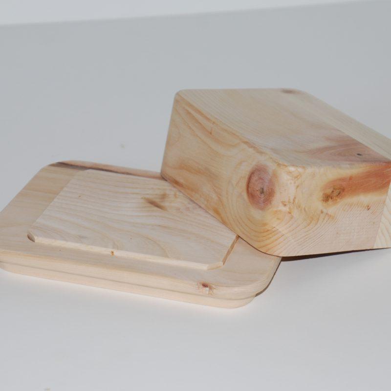 Butterdose Zirbe Holz