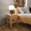 Nachttisch für Zirbenbett - Zirbenholz