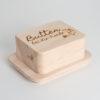 Butterdose Zirbenholz Butter bei die Fische