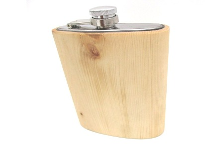 Flachmann aus Holz